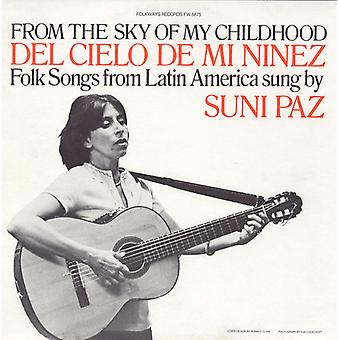 Suni Paz - From the Sky of My Childhood [CD] USA import