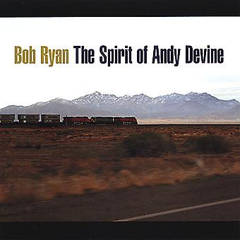 Bob Ryan - ande av Andy Devine [CD] USA import