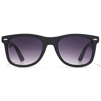 American Freshman Retro Plastic Sunglasses In Matte Black