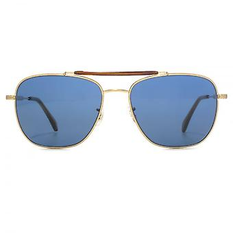 Paul Smith Roark Sonnenbrillen Solf Gold blau