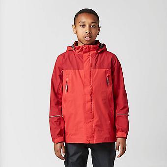 Peter Storm Boy's Mercury Waterproof Jacket Red