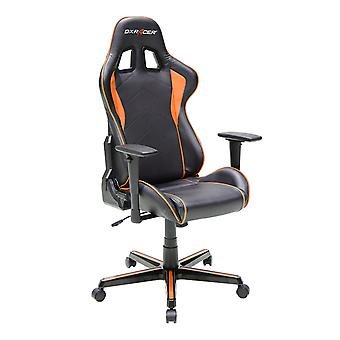 DX Racer DXRacer OH/FH08/NO High-Back Ergonomic Computer Chair PU(Black/Orange)