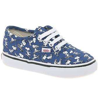 Vans Peanuts Snoopy Kids Toddler Canvas Shoes
