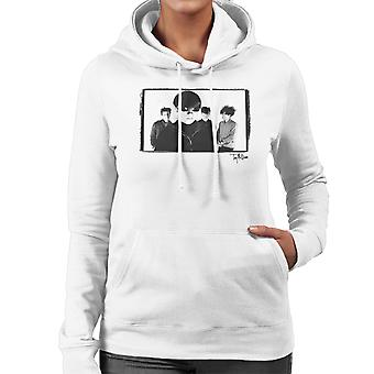 Jesus And Mary Chain Band Shot Women's Hooded Sweatshirt