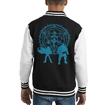 Power Fullmetal Alchemist Kid's Varsity Jacket