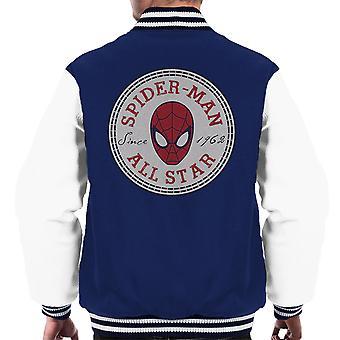 Spiderman Converse All Star Men's Varsity Jacket