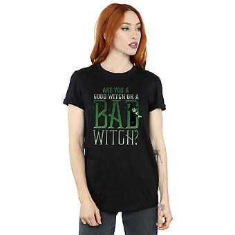Wizard of Oz Women's Good Witch Bad Witch Boyfriend Fit T-Shirt