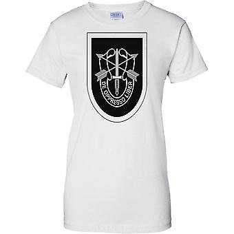 US Special Forces Logo - De Oppresso Liber - Ladies T Shirt