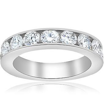 1 1/2ct Diamond 14K White Gold Wedding Ring