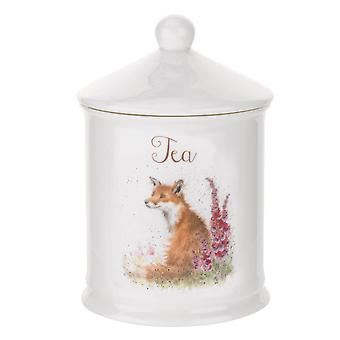 Royal Worcester Wrendale entwirft Tee Kanister, Fox