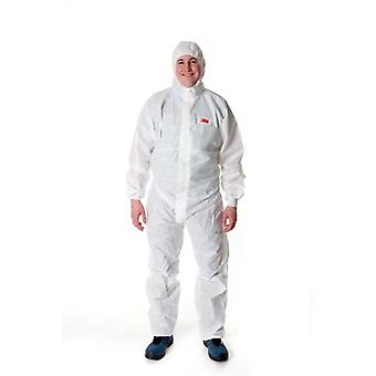 3M 4530Wx 3M 5/6 X/Large Fire Resistant Coverall White