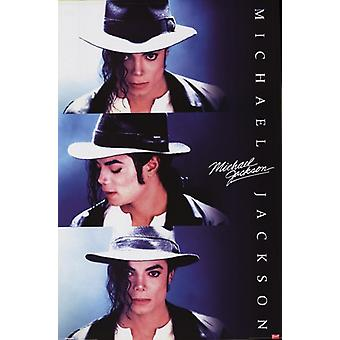 Michael Jackson - Triptych Poster Poster Print
