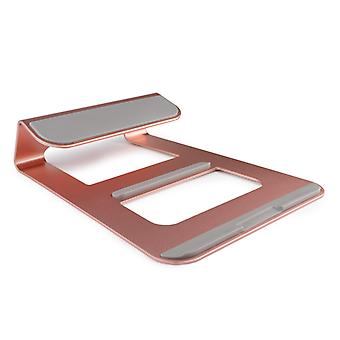 Premium LAPTOP Stand Solid Aluminum Alloy Holder for Apple Macbook MAC PC Samsung HP Sony Lenovo ASUS Acer Dell Toshiba and more! Windows iOS Stand Desktop Mount Bedroom Mobile Phone Portable Cradle
