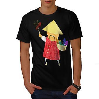 Año nuevo chino BlackT-camisa de los hombres | Wellcoda