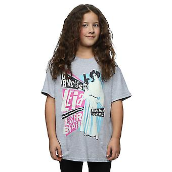 Star Wars Girls Princess Leia Rock Poster T-Shirt