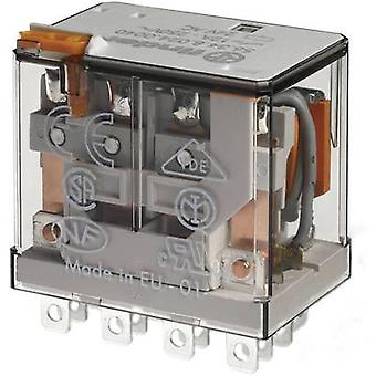 Plug-in relay 60 Vdc 12 A 4 change-overs Finder 56