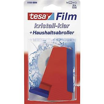 Tesafilm® Crystal Clear 33 m x 15 mm + dispensador de hogar