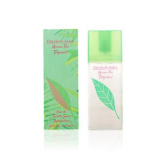 Elizabeth Arden Green Tea Tropical Eau De Toilette Vapo 100ml Womens New Perfume