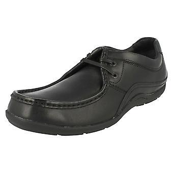 Mens Clarks смарт зашнуровать обувь фальцет время