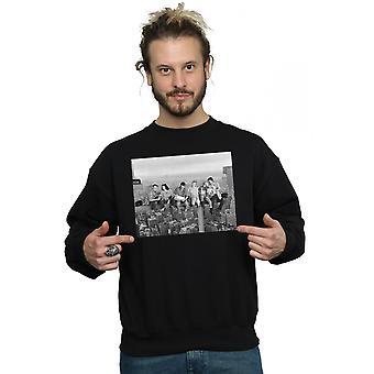 Friends Men's Construction Photo Sweatshirt