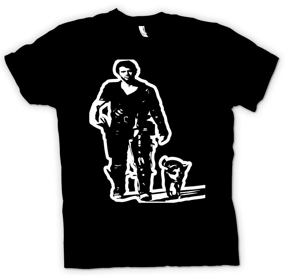Kids t-shirt - Mad Max - BW - culto