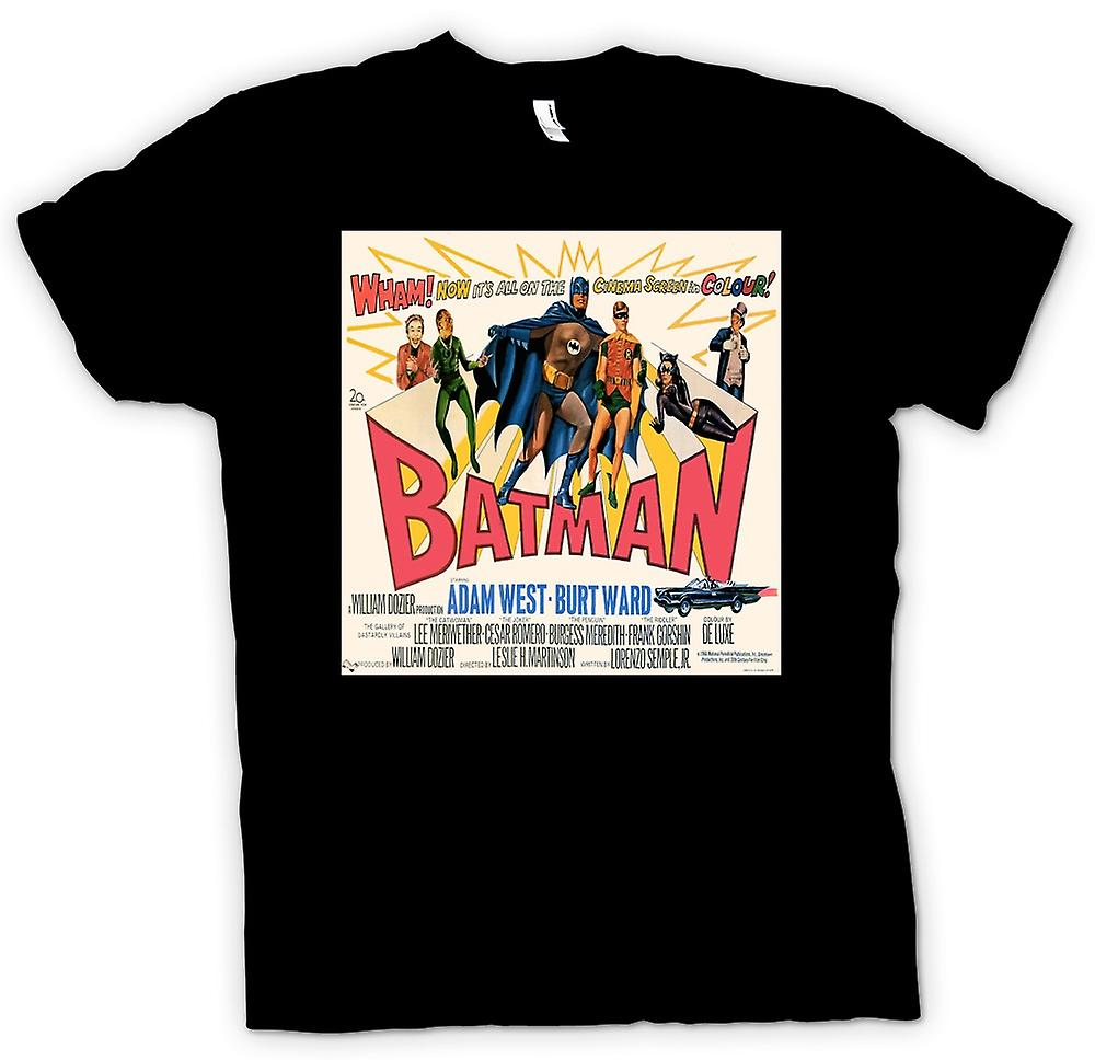 Femmes T-shirt - Adam West Batman - Classique Movie B - Affiche