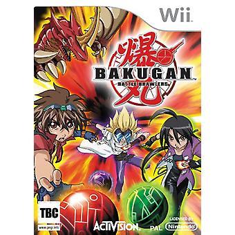 Bakugan Battle Brawlers (Wii) - Usine scellée