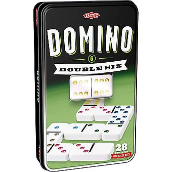 Tactic Games UK Double 6 Domino Game