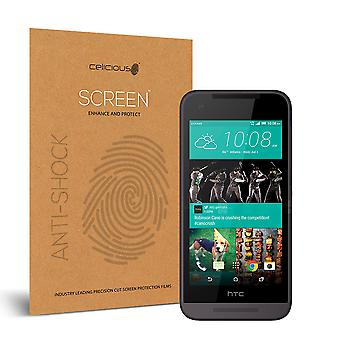 Celicious Impact Anti-Shock Shatterproof Screen Protector Film Compatible with HTC Desire 520