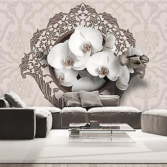Tapet - Royal orkideer