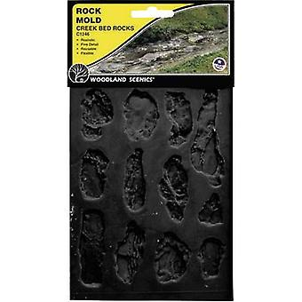Universal Rubber mould River bed Woodland Scenics WC1246