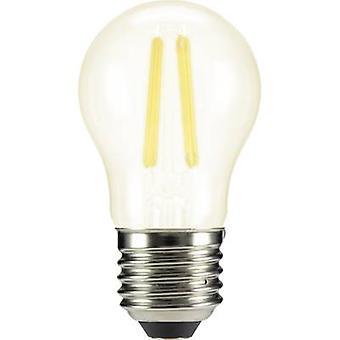 Sygonix LED E27 Droplet 4 W = 40 W Warm white (Ø x L) 45 mm x 84 mm EEC: A++ Filament 1 pc(s)