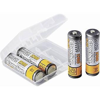 Camelion HR06 AA batteri (oppladbart) NiMH 2700 mAh 1,2 V 4 eller flere PCer