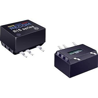 RECOM R1D-1205 DC/DC converter (SMD) 12 Vdc 5 Vdc, -5 Vdc 100 mA 1 W No. of outputs: 2 x