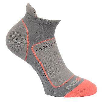 Regatta Womens/Ladies Trail Runner Coolmax Cushioned Walking Socks