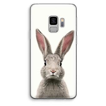 Samsung Galaxy S9 Transparent Case (Soft) - Daisy