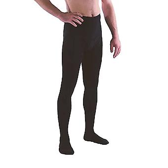 Pebble UK Mens Support Tights [Style P234] Black  XXL