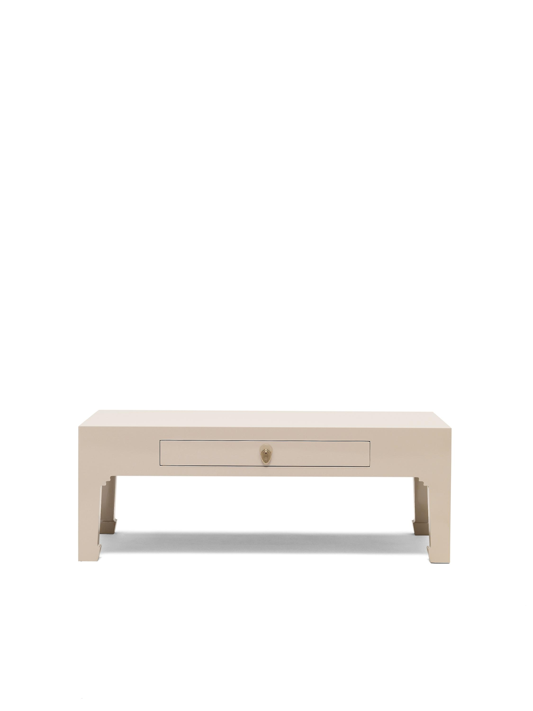 Oyster With DrawerBaumhaus The Schools Nine Qing Grey Coffee Table kZiuXOTP