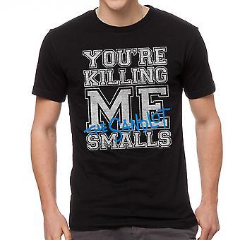 أنت قتل لي القميص الأسود تفاهة الرجال الرسم مجانية
