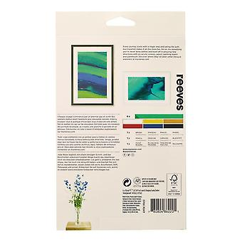 Reeves Acrylic Painting Starter Set (9 Piece)