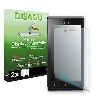 Sony Xperia ST26i screen protector - Disagu tank protector protector