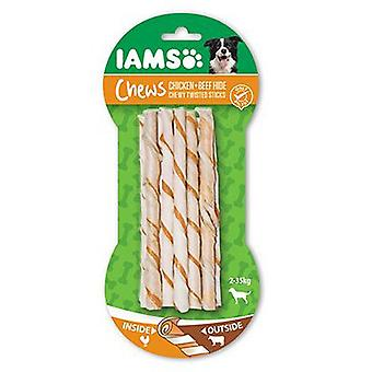IAMS Twisted sticks masticables pollo y ternera 10 unid. (Dogs , Treats , Natural Treats)