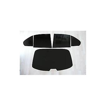 Pre cut window tint - Rover 200/25 5-door - 1995 and newer - Rear windows