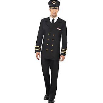 Smiffy's Navy offiser drakt,