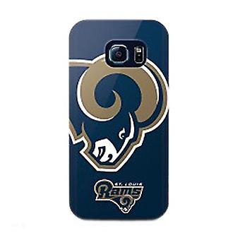Mizco Sports NFL Oversized Snapback TPU Case for Samsung Galaxy S6 Edge (St. Lou