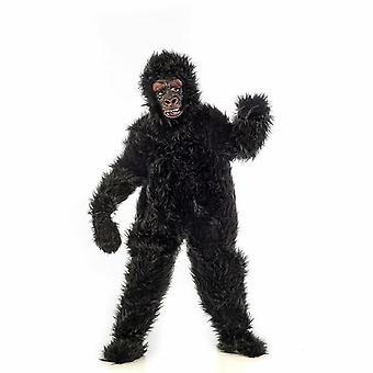 Gorilla svart gutter kostyme ape monkey barn kostyme
