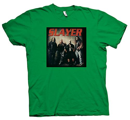 Mens t-skjorte - Slayer - Heavy Metal-bandet