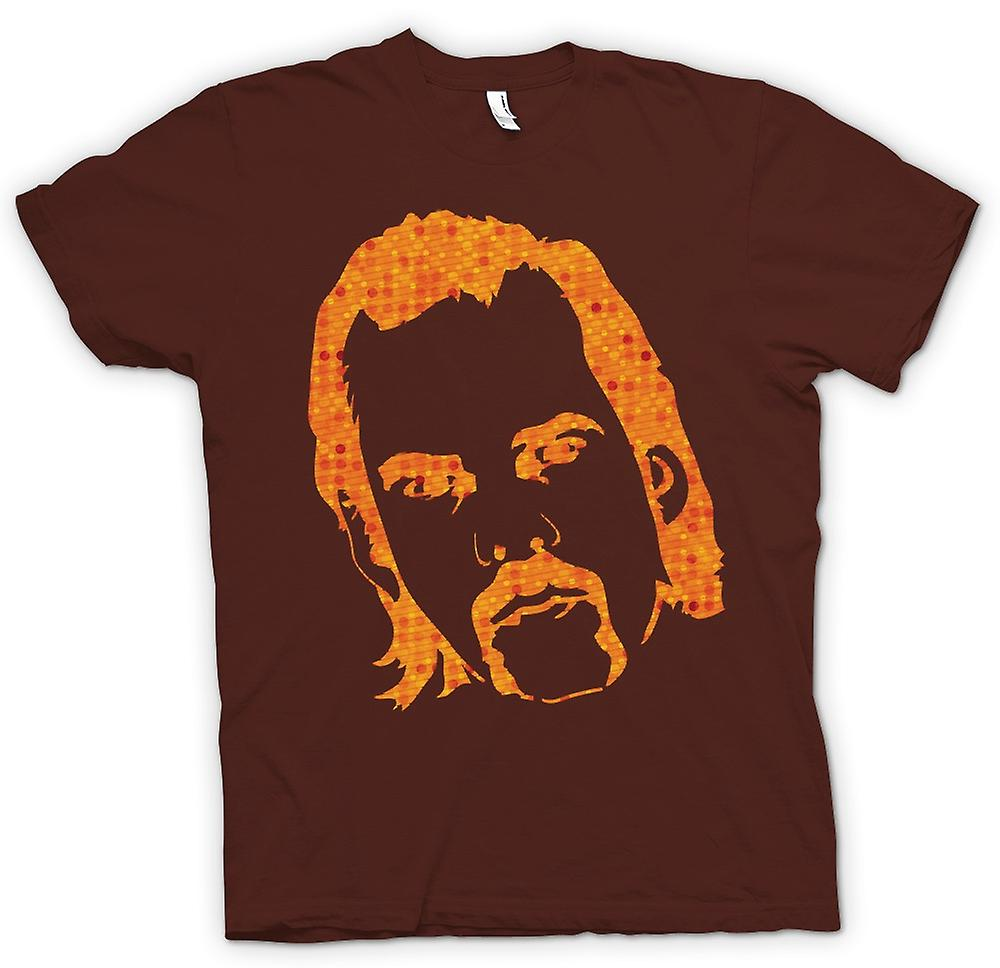 Mens T-shirt - Nick Cave Portrait