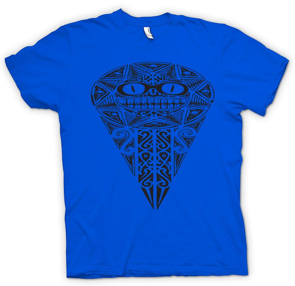 Mens T-shirt - Aztec Tribal War Design