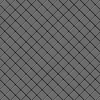 Metal mosaic Titanium ALLOY Diamond-Ti-SB